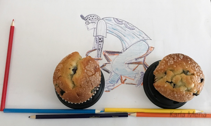 bike wheel muffin